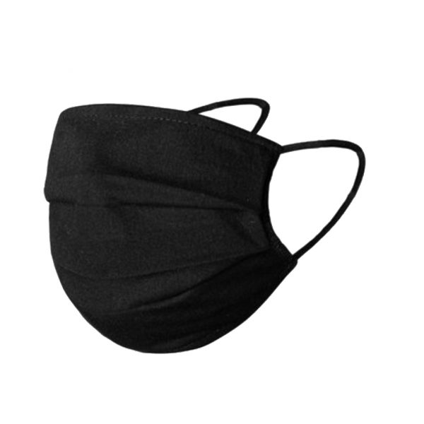 Wasbaar mondkapje zwart - wasbare mondkapjes kopen